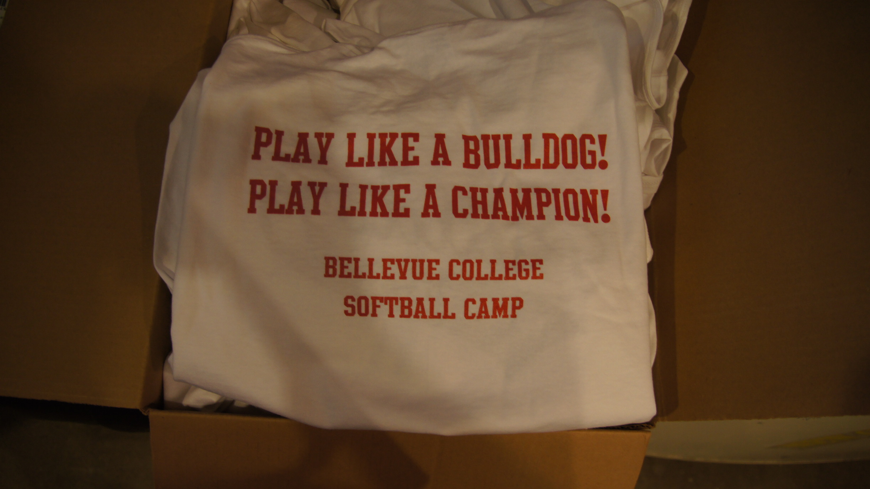 Bulldog camp t shirt seattle screen printing and custom for Seattle t shirt printing